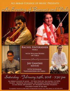 AACM Presents - An Evening of Bansuri & Viola