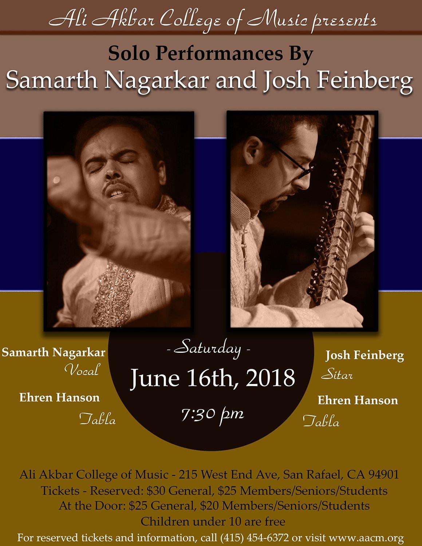 Concert with Nilan Chaudhuri January 13, 2018